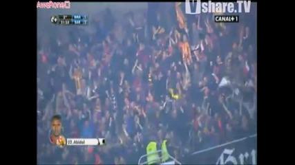 Реал Мадрид - Барселона 1:2 Гол на Ерик Абидал