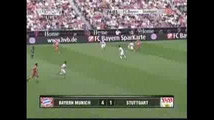 Bayern M Vs Stutgart 4 - 1 Goals