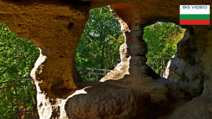 Средновековен скален манастир край Аврен