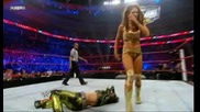 [hq] Wwe Royal Rumble 2011: Layla Vs. Michelle Mccool Vs. Natalya (c) Vs. Eve