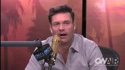 забовно клипче на Джо как прави кавър на песента на La Rams ram It в интервю за Ryan Seacrest