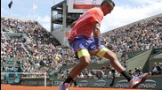 Murray Beats Kyrgios Reach 4th Round of French Open