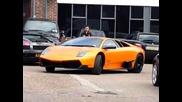 Lamborghini Murcielago Lp670 - 4 Sv accelerates