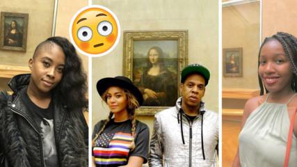 Ново предизвикателство или защо чернокожи мацки се снимат пред Мона Лиза