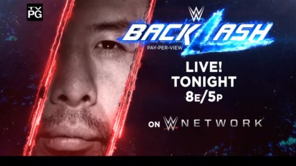 WWE Backlash - Live tonight on WWE Network