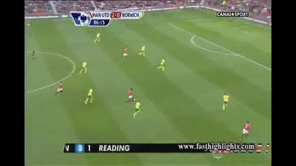 Манчестър Юнайтед 4:0 Норич