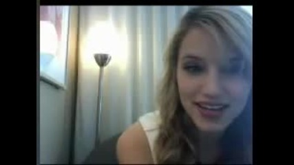 Glee - Quinn - Diana Agron live chat