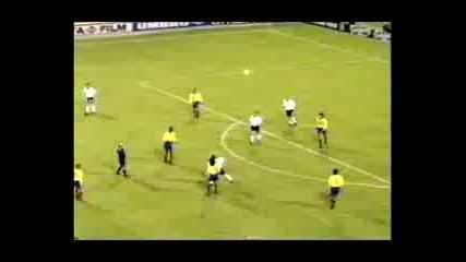 1995 Rene Higuita Scorpion Save Vs England