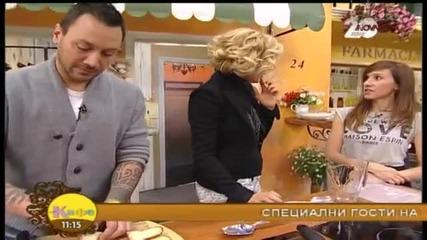 Рецептата днес - Домашна паста и брускети по селски - На кафе (16.12.2014г.)