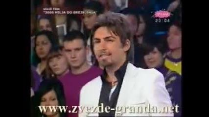 Sasa Kapor - Kosa do ramena, komentar zirija - Zvezde Granda 2009 - RTV Pink