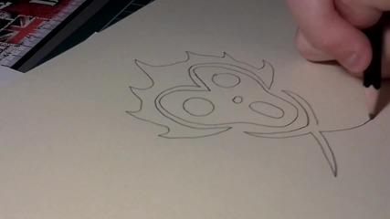 Как да нарисуваме логото на Barto Club (one Piece)