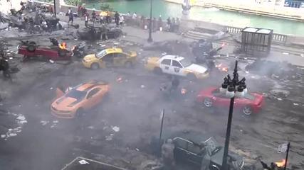 Transformers 3 - Зад кадър ...