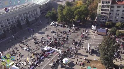 Софийски маратон 2013 заснет от въздуха