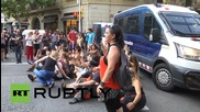 Spain: Anti-gag protest sweeps Barcelona, hours before law comes into effect