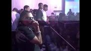 Sean Paul performing live at Esso