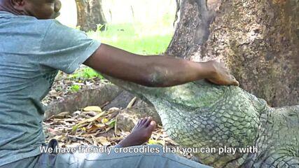 Around the world: Ghana's sacred pond