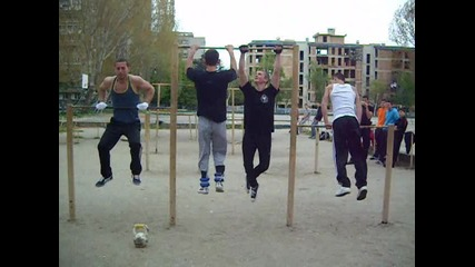 Street Fitness Varna