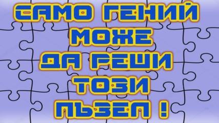 Логическa игрa - Само гений може да реши тези пъзели!