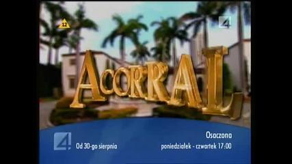 zapowiedz-promo Acorralada(osaczona) Tv4(polonia)
