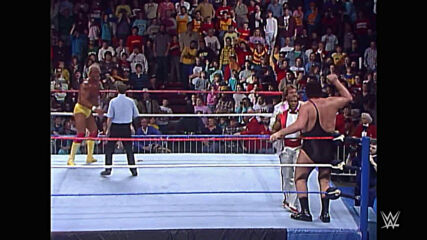 Andre the Giant wins the WWE Title: WWE The Main Event, Feb. 5, 1988