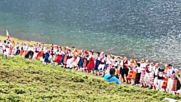 ОПИТ ЗА РЕКОРД: Правят най-дългото хоро край Седемте рилски езера (ВИДЕО)