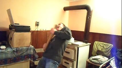 Лудак забива на Metallica