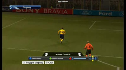 gol na henry pes 2009