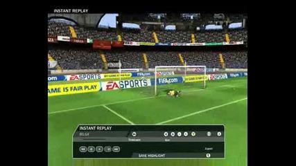 fifa 09 goal Totti