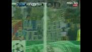 шут и гол за Дебрецен - Левски 0 - 1 Дебрецен на полувремето !