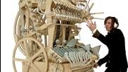 Вижте каква музикална машина е направил този човек