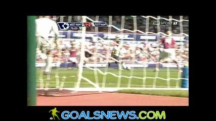 23/08/2009 West Ham - Tottenham 1:2 Lennon