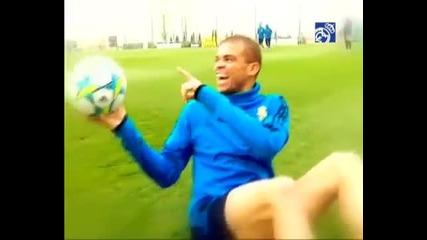 Вече и футболистите на Реал Мадрид мразят Пепе ! 100% смях