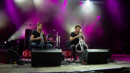 2cellos - Human Nature [live at Exit Festival]
