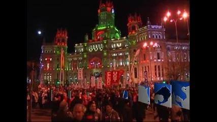 Лекари, медицински сестри и санитари протестират в Испания