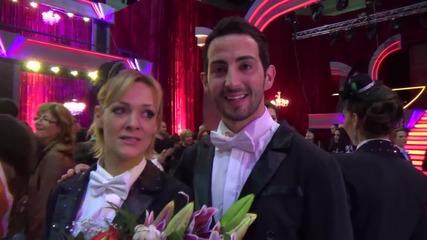 Dancing stars - Албена и Калоян за седмичният им танц (22.04.2014)