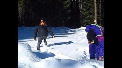 Зимните приключения на ръбовете