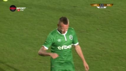 Яцек Горалски с контузия на мача с Ботошани