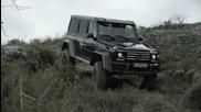 Как се справя нoвият Mercedes G 500 4x4² - Offroad Demo