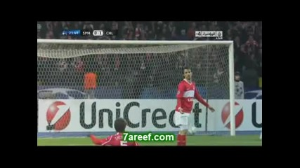 Spartak Moscow 0:2 Chelsea 19.10.10