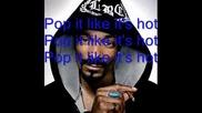 Snoop Dogg - Drop It Like Its Hot (text)