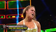 Ronda Rousey takes down Nia Jax with an unbelievable Judo throw: WWE Money in the Bank 2018 (WWE Network Exclusive)