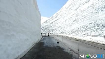 20 Метрови стени от сняг