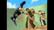 Sasuke Vs Gaara & Neji Vs Naruto *numb*