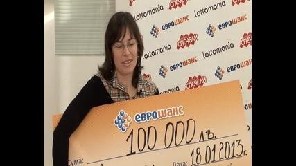 100 000 лв. от Еврошанс в Несебър