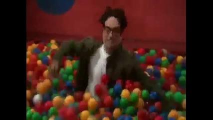 Sheldon Cooper In Ball Pit