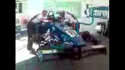 Тест На Двигател На Формула
