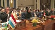 U.S., Kuwait Pledge Over $1 Billion Towards Syria Crisis