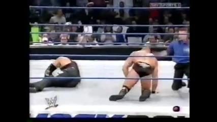 Гробаря срещу Грамадата и Брок Леснар - Хандикап мач