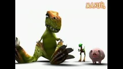 Ето как са умрели динозаврите 2 ( Смях ) !