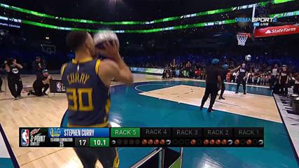 Изненадващ победител в конкурса от тройката в НБА